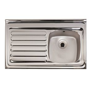 Sit On Stainless Steel Sinks