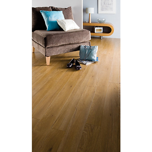 Kitchen Flooring Aberdeen: Kronospan Original Aberdeen Oak Laminate Flooring 1285 X