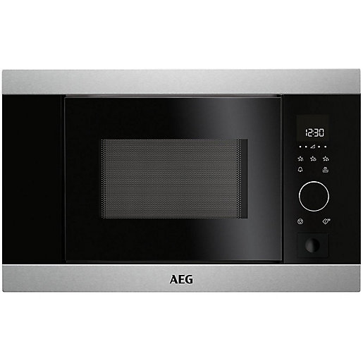 aeg compact combi microwave oven kmk761000m benchmarx kitchens joinery. Black Bedroom Furniture Sets. Home Design Ideas
