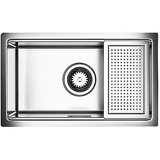 Astracast Companion Stainless Steel Kitchen Sink With Accessory Pack Silver