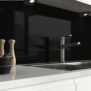 AluSplash Splashback Ebony 900mm x 800mm
