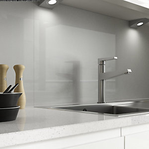 AluSplash Splashback Space Silver 900mm x 800mm