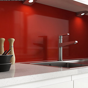 AluSplash Splashback Spanish Red 900mm x 800mm