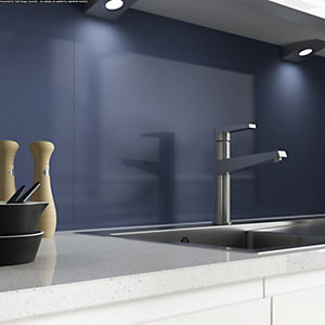 Alusplash 3000 x 545mm Splashback Blueberry