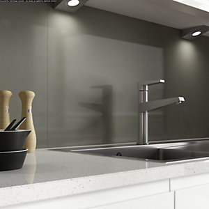 Alusplash 900 x 800mm Splashback Grey Mocha