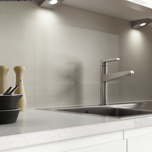 Alusplash 900 x 800mm Splashback Warm Grey