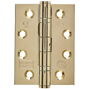 Eclipse 4Inch Grade 11 Hinge - Ball Bearing (102mm) CE Brass