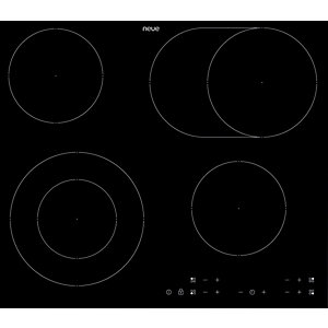 neue 60 cm 4 Ring Ceramic Hob Touch Control Black Frameless - CHT601FL