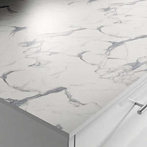 Apollo Compact Blanco Marble Worktop 3050 x 645 x 12.5