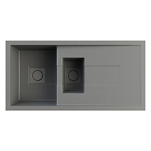 Astracast Sigma 1.5 Bowl Composite Sink Graphite Grey