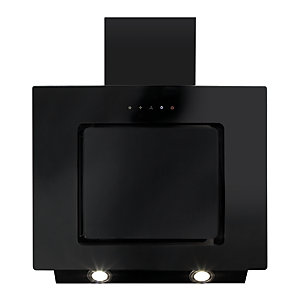 60cm CDA Angled Black Glass Extractor