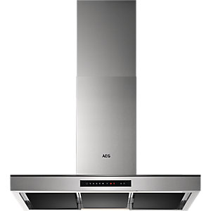 AEG Puzzle Wall Hood Stainless Steel 90cm DBK7990HG