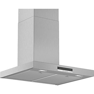 Bosch Serie 4 60cm Box Design Chimney Hood with Touch Control Stainless Steel DWB66DM50B