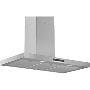 Bosch Serie 4 90cm Box Design Chimney Hood with Touch Control Stainless Steel DWB96DM50B