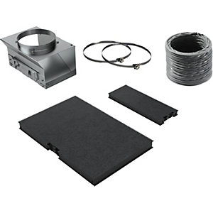 NEFF Re-circulation Kit for NEFF Angled Hoods (D65IHM1S0B & D95IHM1S0B)