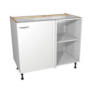 Self Assembly Kitchens Dakota 1000 Highline Corner Base + 500 Fascia