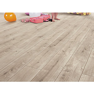 Elka Laminate Driftwood Oak Flooring 1261 x 190 x 8mm Pack Size 2.162m2