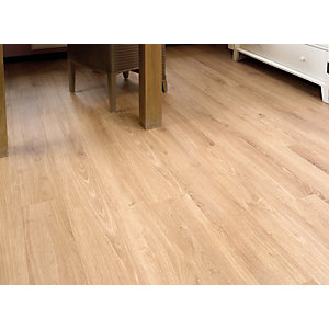 Elka Laminate Rustic Oak Flooring 1261 x 192 x 8mm Pack Size 2.162m2