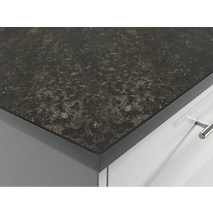 Wilsonart Cheshire Saw Mill Dark Square Edge Worktop 3050 x 600 x 38mm AST00000126