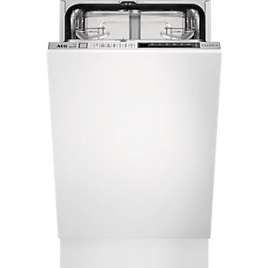 AEG 45 cm Integrated Dishwasher White - FSK73400P
