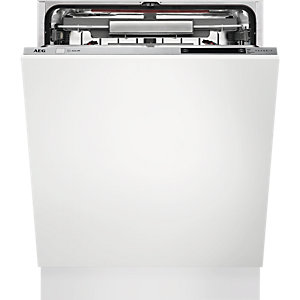 AEG Integrated Comfort Lift Dishwasher White 60cm - FSK93800P