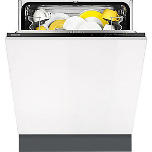 Zanussi 60 cm Integrated Dishwasher White - ZDT21006FA