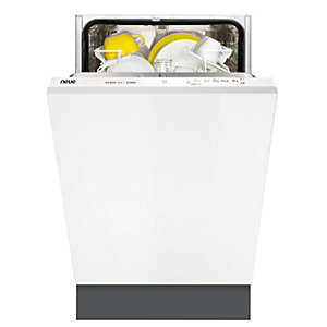 neue Integrated Dishwasher White 45cm IDSH452W