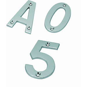 Satin Stainless Steel 102mm Letter in   C