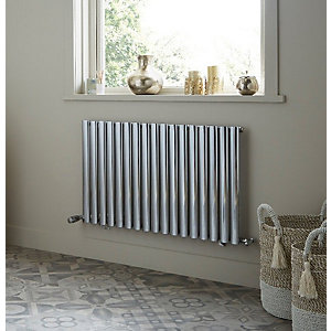 Dorney Single Horizontal Anthracite Radiator 600mm x 1012mm