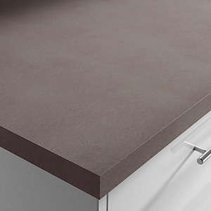 Earth Stone 38mm Laminate Breakfast Bar Square Edge 3000 x 900 x 38mm