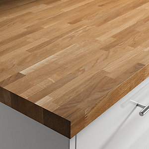 Solid Oak Upstand Oiled 3000mm x 100mm x 20mm