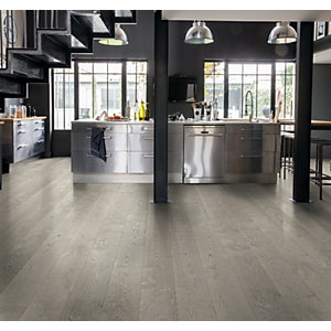 Quick Step Palazzo Concrete Oak Oiled Engineered Flooring 1820 x 190 x 14 mm Pack Size 2.075m2