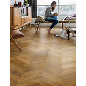 Quick Step Parquet Traditional Oak Oiled Engineered Flooring 1050 x 310 x 14mm Pack Size 1.302m2