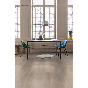 Quick Step Uniclic PAL3092S Parquet Palazzo Frosted Oak Oiled Engineered Flooring 1820 x 190 x 14mm Pack Size 2.075m2