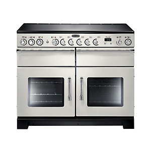 Rangemaster Excel Induction Range Cooker 110 cm Ivory with Chrome Trim