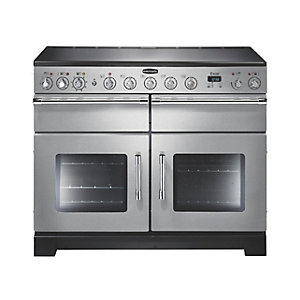 Rangemaster Excel Induction Range Cooker 110 cm Stainless Steel with Chrome Trim