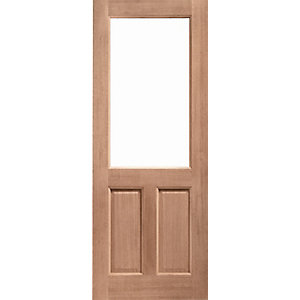 External 2XG Hardwood Door