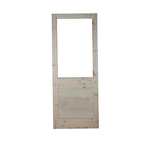 External 2XG Unglazed Door
