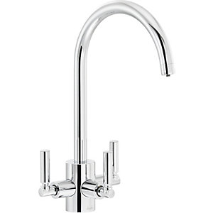 Abode Orcus Dual Lever Filter Tap Chrome
