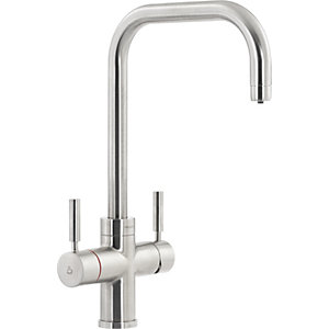 Abode Protex 3 in 1 Water Monobloc Tap Brushed Nickel