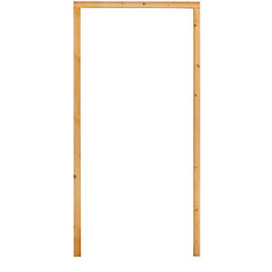 External 33 Inch 30 Min Fire Resisting Softwood Door Frame No Sill Inward/Outward Opening - DF29FCA2