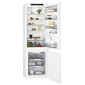 AEG 70/30 Integrated Fridge Freezer White SCE8181VTS