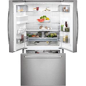 AEG American Side By Side Fridge Freezer With Drawer White RMB76311NX