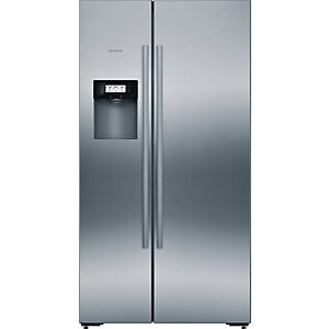 Bosch Serie 6 Home Connect Side By Side American Fridge Freezer With Touchcontrol Stainless Steel Kad92Ai20G