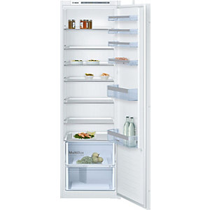 Bosch Serie 4 Built in Fresh Sense Tall Fridge with LED Lights White KIR81VS30g