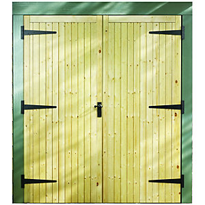 External Garage Double Door 2133 x 1981 x 44 Door