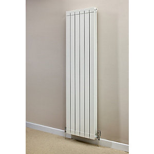 Hanworth Vertical 4 Sections White 1846mm x 348mm