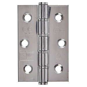 Eclipse 3Inch Graded Hinge - Washered (76mm) CE Polished Stainless