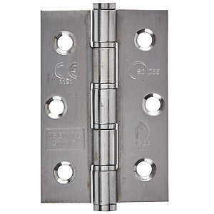 Eclipse Graded Hinge Washered Brass 4 Inch
