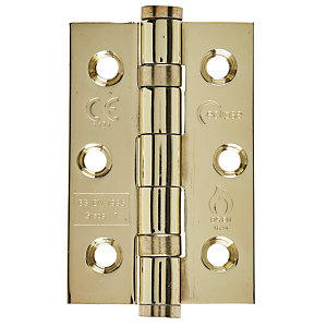 Eclipse Graded Hinge Washered Satin Stainless Steel 4 Inch